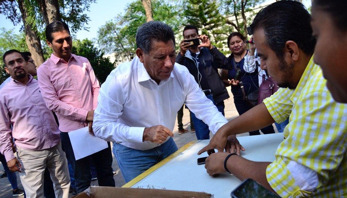Está «inflado» el padrón del PRD, reconoce Raymundo Carmona en el contexto del nuevo proceso de afiliación