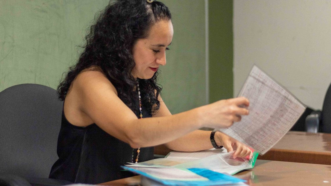 """""""Aprendizaje constante y amor a la profesión, mi recompensa"""": Claudia Díaz"""