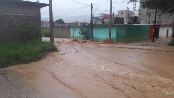 Piden que Juxtlahuaca sea declarado zona de desastre; contabilizan 480 casas con daños por inundaciones