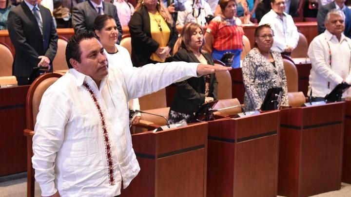Asume Horacio Sosa Villavicencio como presidente de la Jucopo del Congreso Local