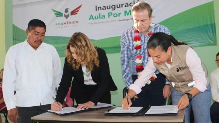 IEEA y Fundación por México, suman alianza para abatir rezago educativo