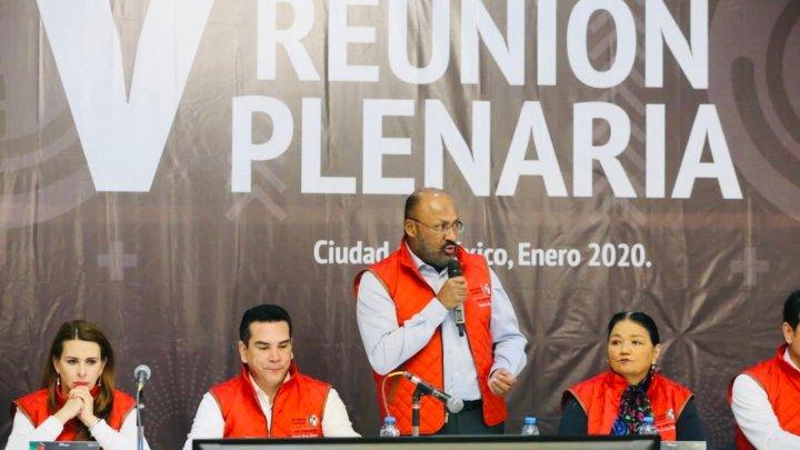 Llama Juárez Cisneros a priistas a trabajar en unidad de cara al próximo proceso electoral