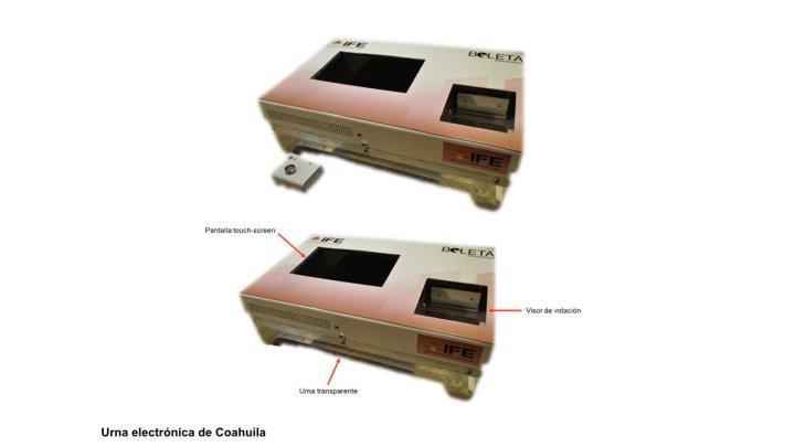 Que aprobado el modelo de operación de la casilla con urna electrónica