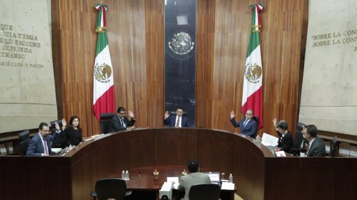 El TEPJF desecha impugnación de diputadas del PRD por integración de Comisión Permanente del Congreso de la Unión