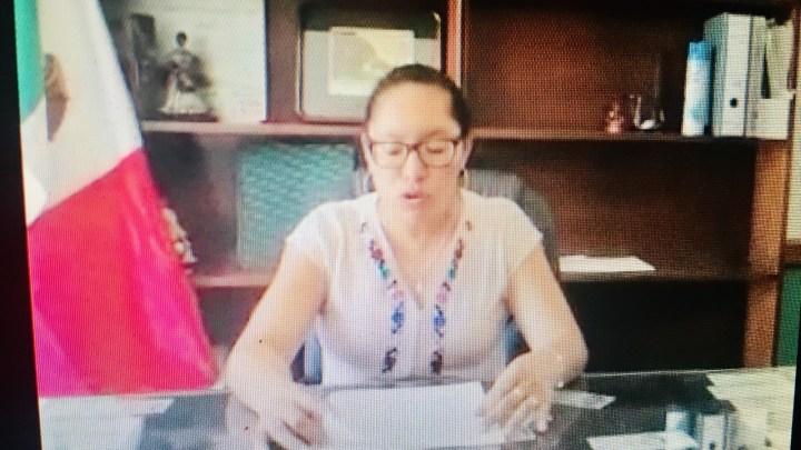 Presidenta de la Ciénega, Zimatlán, reprocha desinformación por presunto caso de Covid-19 en el municipio
