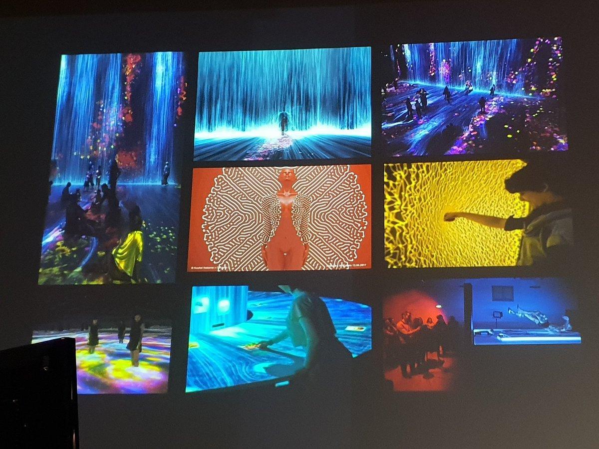 generative art digital creativity flow cascade blue rotana ty