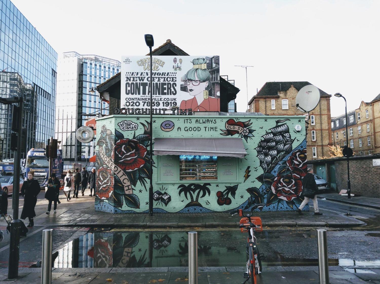 street art shoreditch borough london walk travel rotana ty