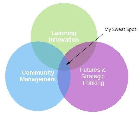 community management strategy future thinking learning innovation venn diagram rotana ty