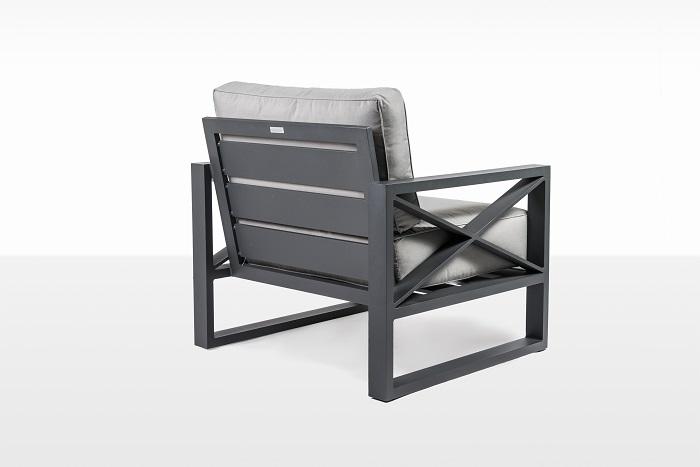 Кресло из алюминия LINEAR