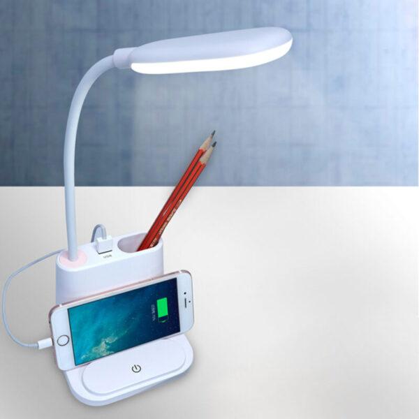 USB Rechargeable LED Desk Lamp