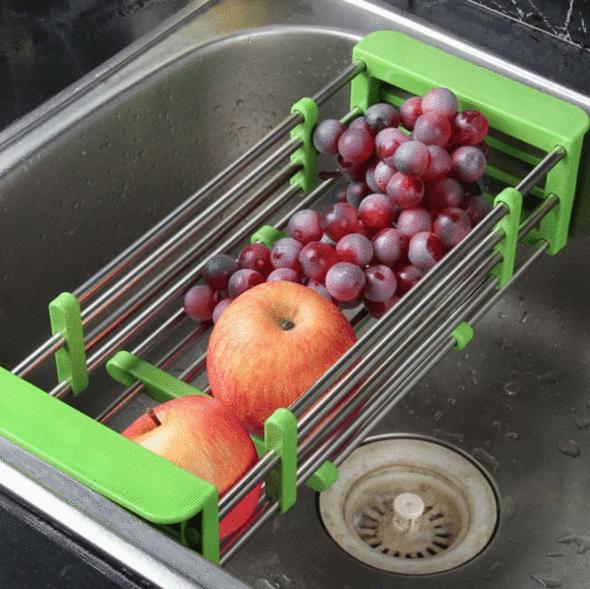 Retractable Sink Rack