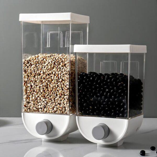 Kitchen Wall-mounted Grain Sealed Box
