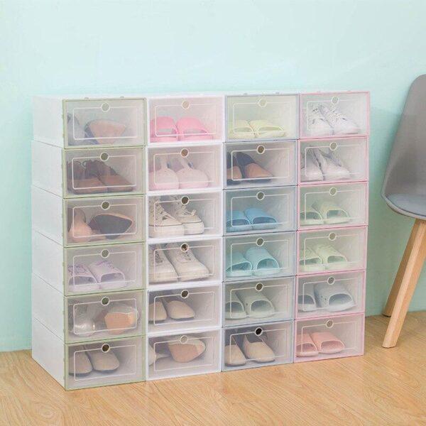 Transparent Shoe Storage Drawer