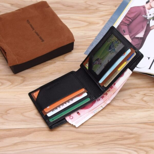 Attractive Smart Leather Wallet With GPS Technology