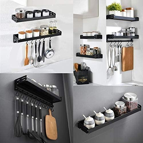 Floating Kitchen Shelves | Modern Home and Bathroom