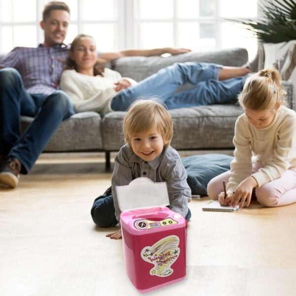 Mini Electric Washing Machine Toys, Kids Toys