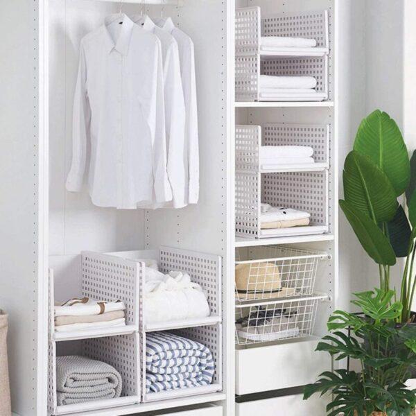 Organizer Multi-Layer Clothes Storage Basket