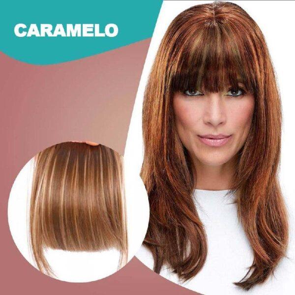 3D Clip-In Bangs Hair Extensions