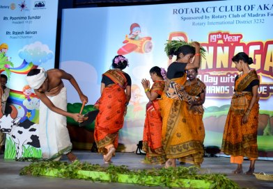 A Rotaract club sustains an annual event for special children for 19th year