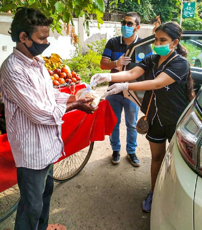 Anti-plastic drive in progress.