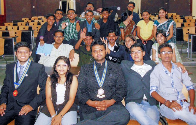 With members of RAC Techplorers.