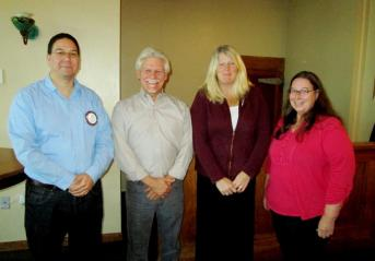 Nick Torres, Tom Tellez, Kim Hall, and Nancy Utley