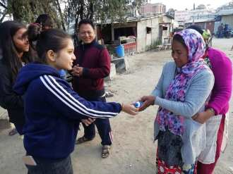 project nirjal interact club of little angels 1