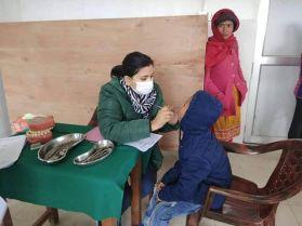 free mega health camp dharan ghopa 4