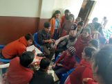 health camp and stationary distribution rc rudramati 6