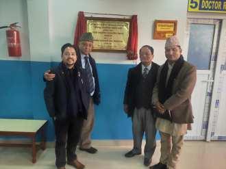 rotary lamahi community dialysis center rc central butwal 2