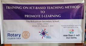 training on ict rc yala 2