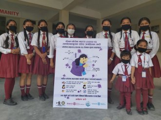 awareness about covid 2019 interact club of devbhumi 1