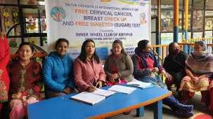 free health camp inner wheel club of kirtipur 7