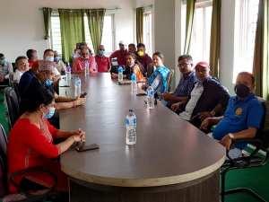 PCR handover to mechi zonal Hospital - region 7 clubs (5)