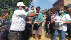 distributed 150 plans of Kagati (Lemon) Rotary Tripureswor (1)