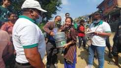 distributed 150 plans of Kagati (Lemon) Rotary Tripureswor (2)