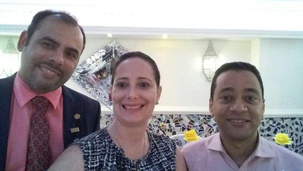 Cristian Leguisamon pte 2016-17, Rosa Polanco, Lenin Francisco