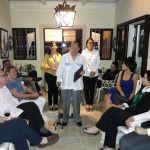 Hogareña sesión en la casa de los Esposos Farías Mere