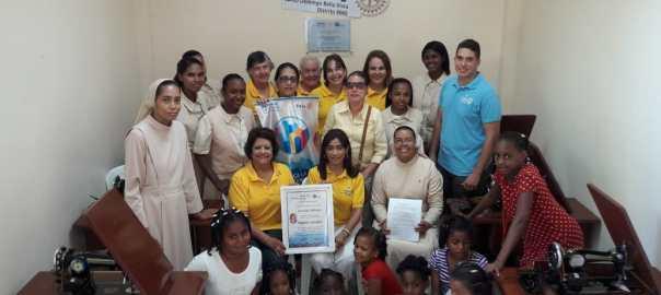 Primera Sala De Costura Verónica Sencion - Hogar Infantil Sagrado Corazón De Jesús