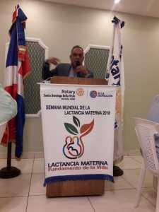 Rotary Santo Domingo Bella Vista 2018 - Palabras de Ruben Goico