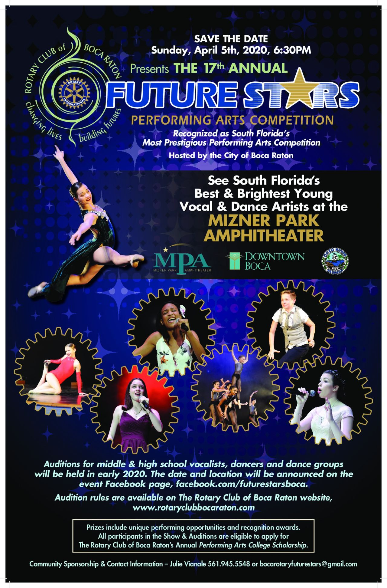 17th Annual Future Stars Performing Art S Competition The Rotary Club Of Boca Raton