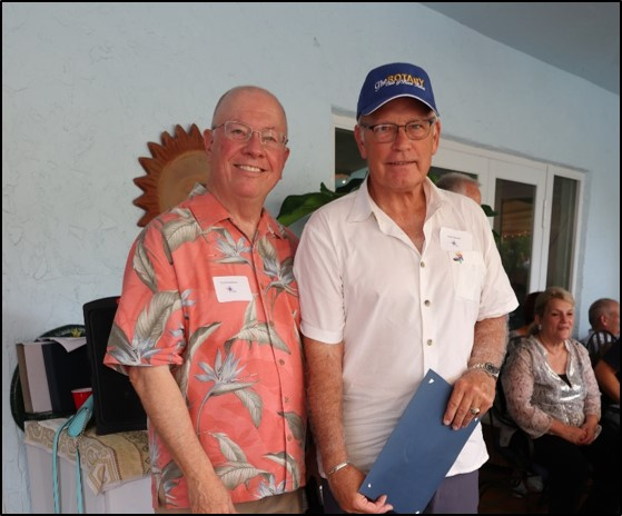 Rick Zimmer- Service above Self Award