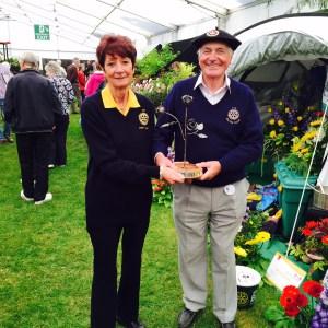 Ayr flower show Dorothy Walter