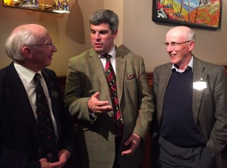 Dr Neil Beattie, Craig Russell and Dr Jimmy Begg