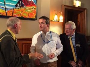 Brian McQuillan, President Douglas & Euan Frew