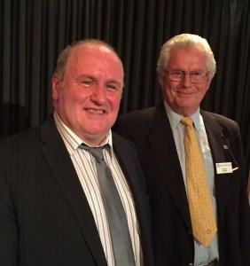 John Mulholland with Ewan Frew