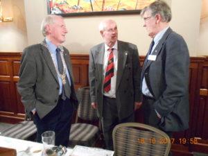 Jim with President Harry & Ieuan