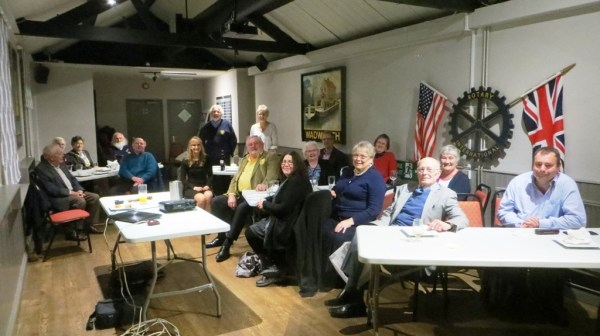 Members, Friends & Guests at the Club Half Year Assembly