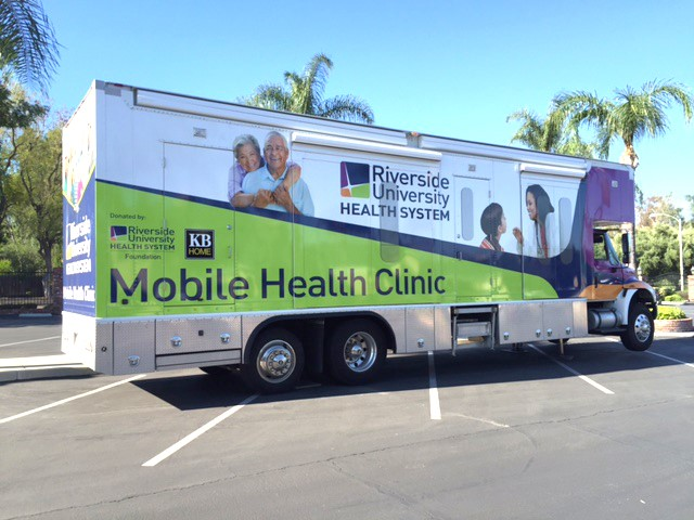 The ROTARY CLUB of RIVERSIDE SPONSORS the RIVERSIDE COUNTY MOBILE CLINIC