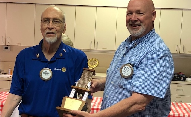 Lair - Rotarian of the Year